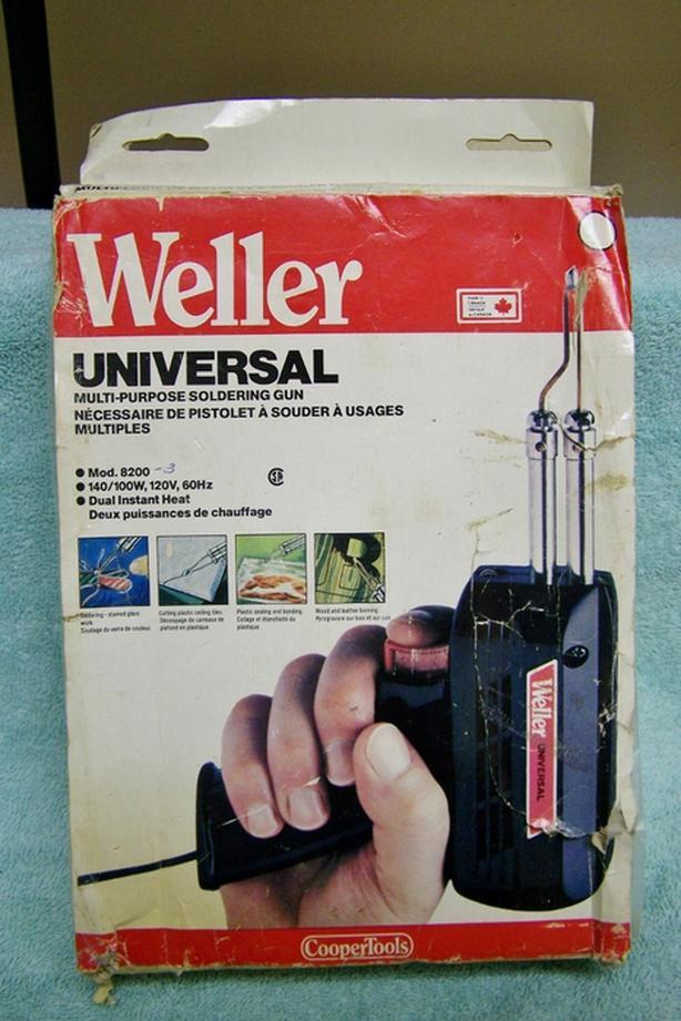 VINTAGE WELLER UNIVERSAL SOLDERING GUN NOS