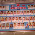 Vintage 1972 Team Canada Hockey Poster Orr Esposito Dryden Henderson