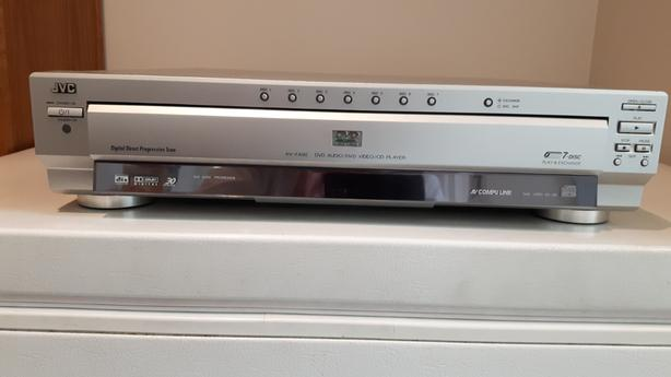 DVD/CD player - JVC Canada XVFA92SL – 7-Disc – with manual - no remote
