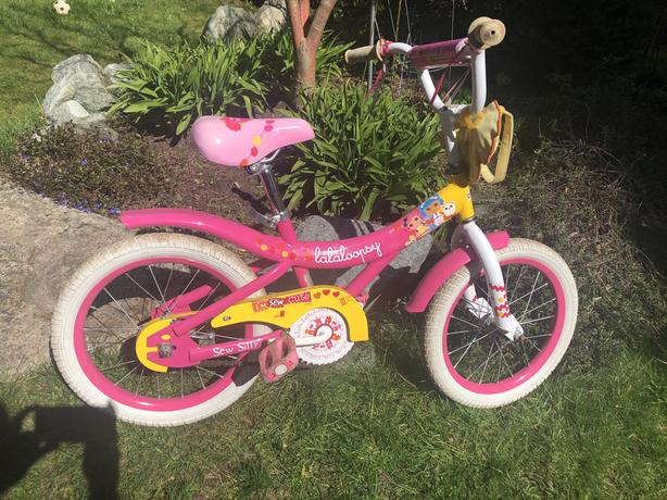 "16"" Lalaloopsy, bike"
