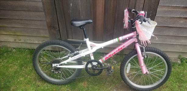 """Kids Bike with 18"""" wheels"""