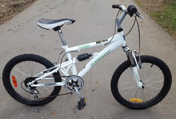 5 Speed Infinity Raven Dual Suspension Bmx Bike Child Youth 20 Inch Tires