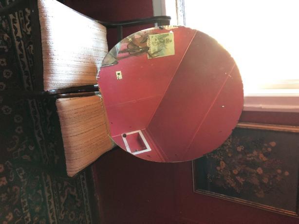 Antique Round Heavy Mirror