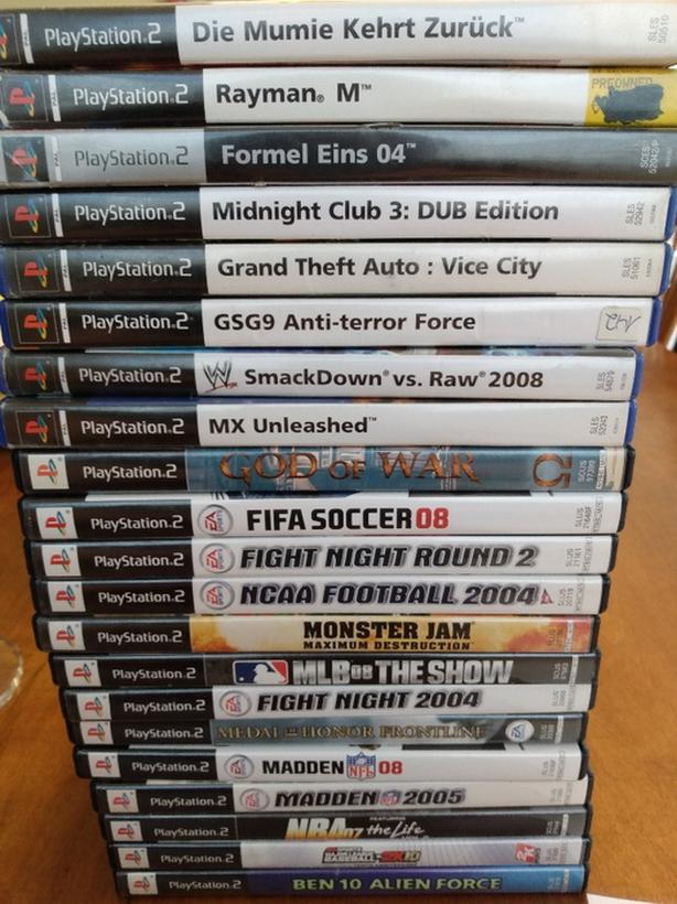 PS2 Games