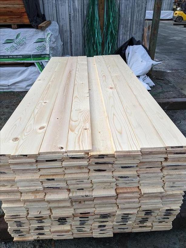 [SALE] Yellow Cedar 1x6 T&G Tight knot