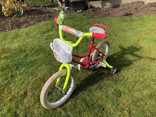 Fisher-Price pink bike