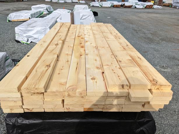 [SALE] Yellow Cedar 2x6 & 2x4 Farm Fencing