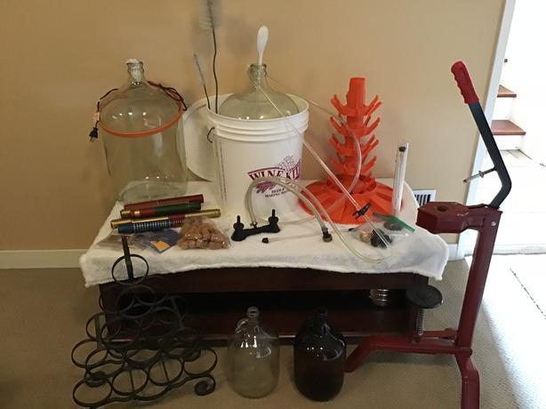 WOW ! Wine making equipment
