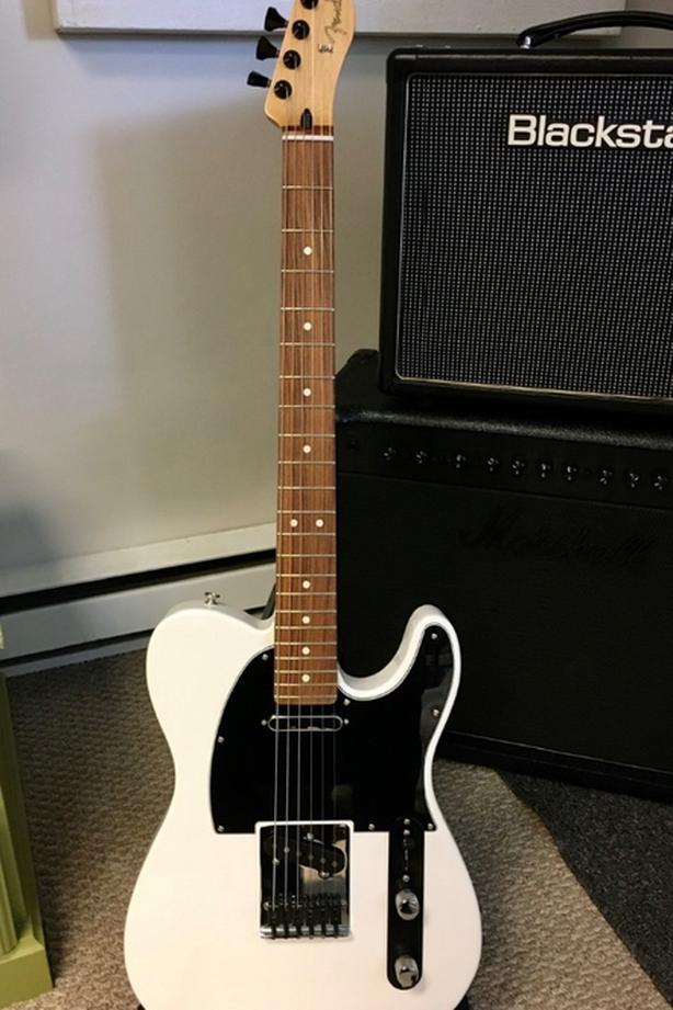 2020 Fender Player series polar white Telecaster with upgrades