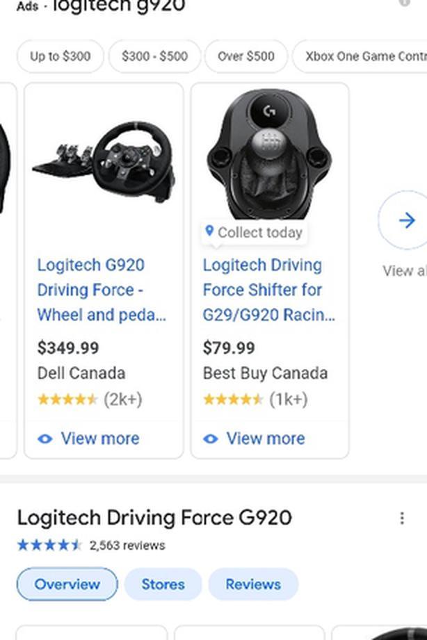 logitech g920
