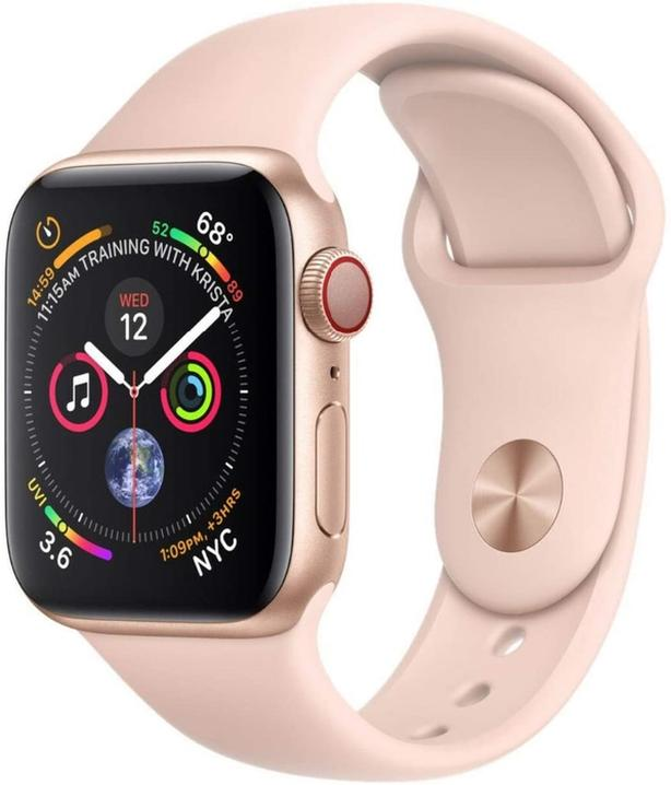 Apple watch series 4 with cellular pink and gold