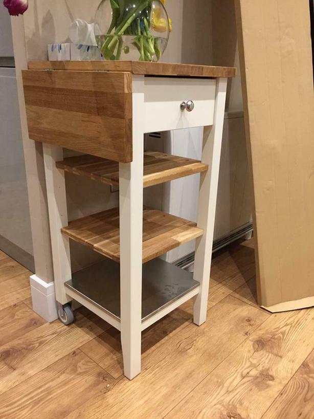 IKEA stenstorp kitchen island cart