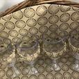 As New Wicker Rattan Large Picnic Basket With All Accessories