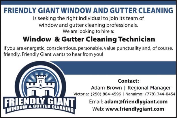 Window & Gutter Cleaning Technician