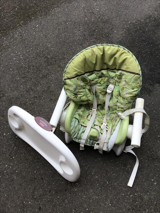 high chair topper that fastens onto exsting chair