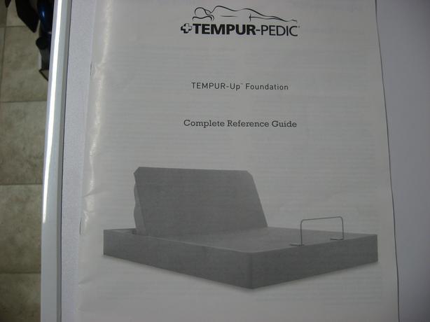 Tempur-pedic lift bed Queen Size