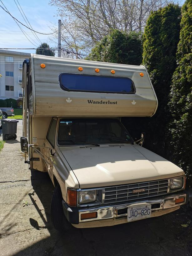 1986 Toyota Wanderlust RV