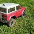 hpi pink bronco custom paited
