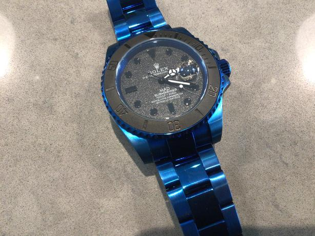 MAD PARIS SUBMARINER - SUPER RARE you wont find another one !!