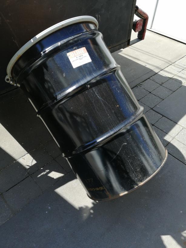 Epoxy lined new 55gallon oil drum