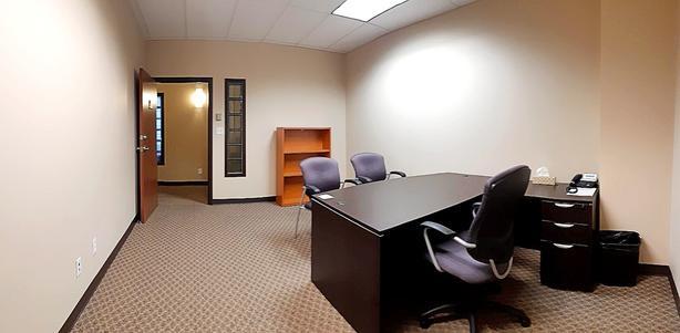 Office 323: Furniture, phone, internet, & reception