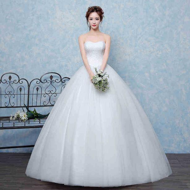 """NEW...Bust 40"""", GORGEOUS TULLE PRINCESS BRIDAL GOWN (#147)"""