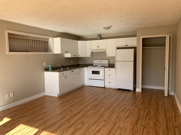 Bright and Spacious 1 Bed 1 Bath ground level suite