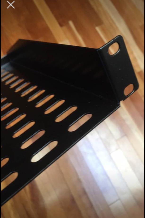 Mint New 1 U Rack Shelf for Rack Case or Road Case