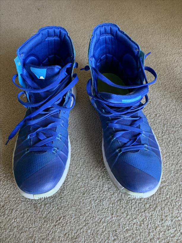 Nike Hyperdunk 2015 Basketball Shoes 749885-404 Blue Women's Size 10