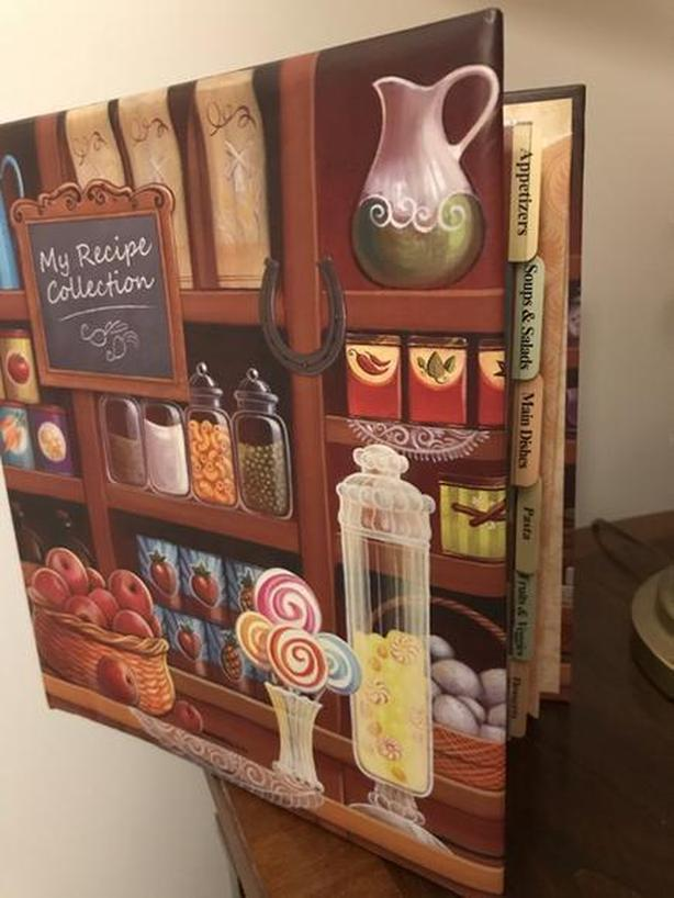"""BRAND NEW. """"My Recipe Collection"""" Book  was $25"""