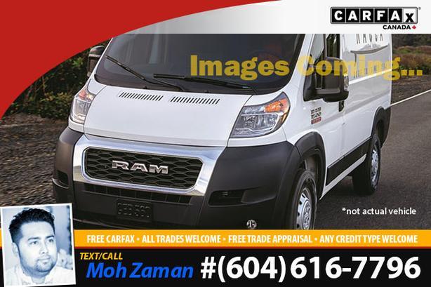 2020 Ram ProMaster Cargo Van | CLEAN VEHICLE, 41K KMS ONLY