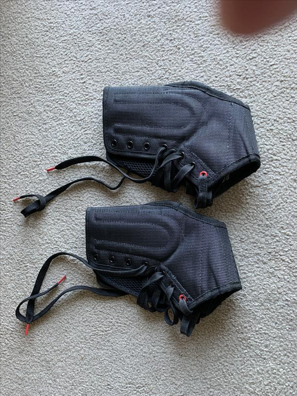 McDavid ankle braces and knee pads