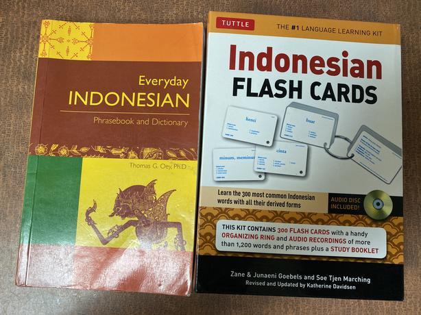 FREE:  Indonesian language book etc.