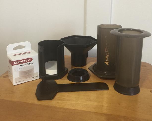 AeroPress coffee set