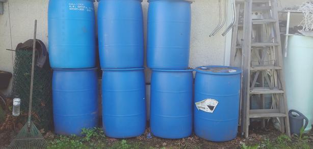 55 gallon barrels