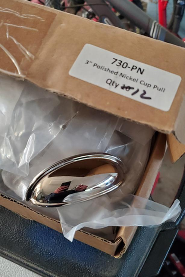 3 inch polished nickel drawer pulls
