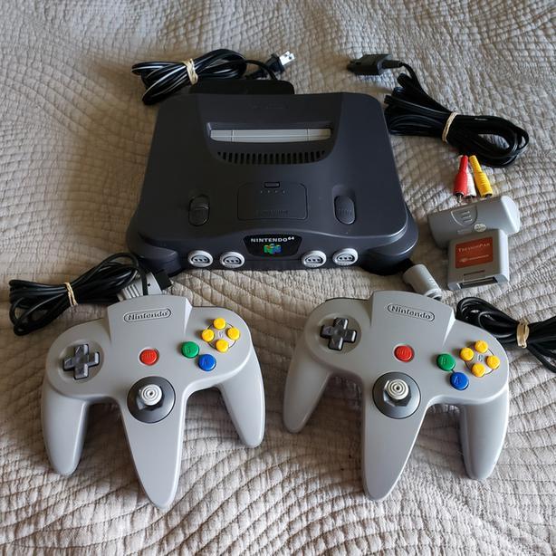 N64 + Controllers