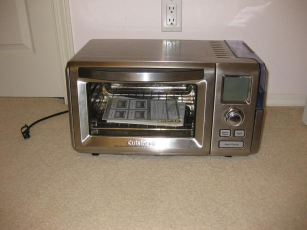 Cuisinart steam + convection toaster oven