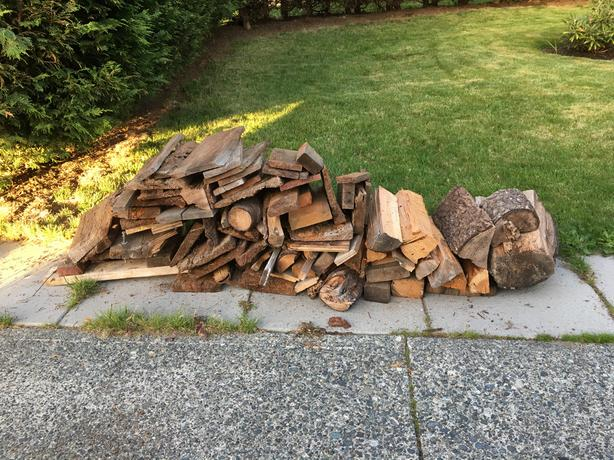 FREE firewood pieces