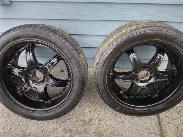 set of 4 20 inch truck. suv rims and tires