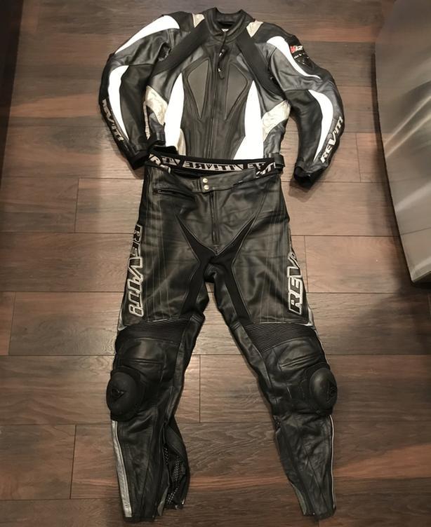 Leather bike suit (unisex)