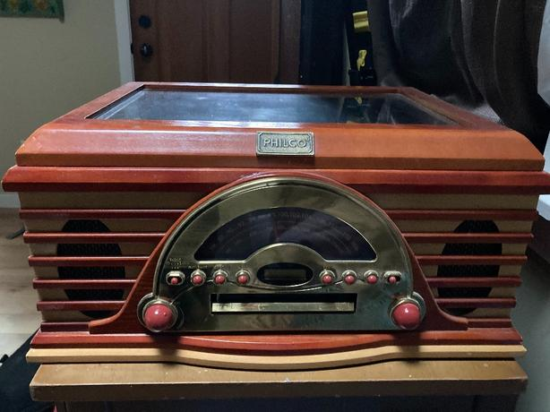 Record Player & Records