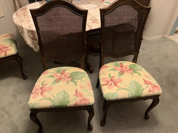 4 Chairs _ $15 Each or $50 the 4 of them