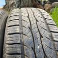 Installed and balanced 2   195 65 15 Kuhmo Solus KR21 A/S tires