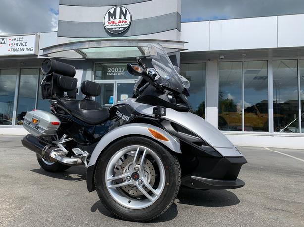 Used 2008 CAN-AM SPYDER Premiere Special Edition Stereo Saddle Bags EXTRAS Roads
