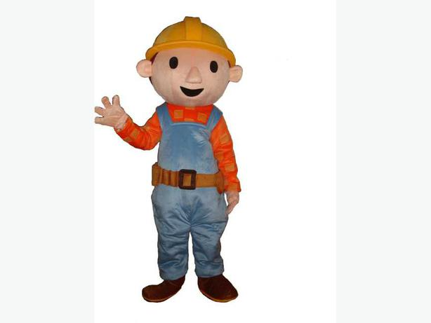 Log In Needed 25 Bob The Builder Adult Fancy Dress Mascot Party Costume Hire