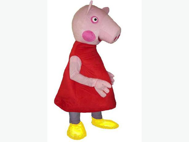 Peppa Pig George Pig Adult Mascot Party Outfit Costumes Hire Rent 25