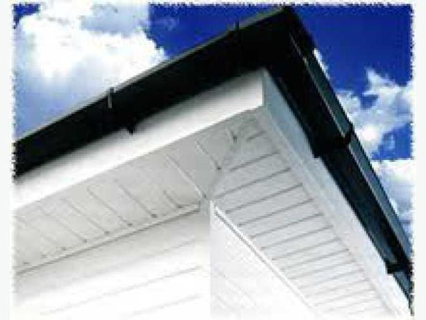 fascias, soffits and guttering.