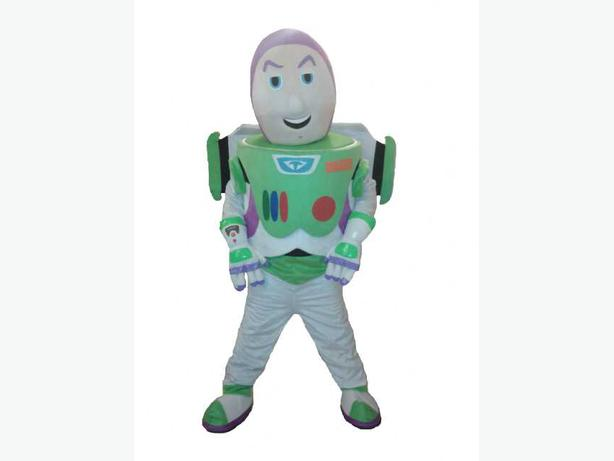 £25 BUZZ LIGHTYEAR TOY STORY ADULT MASCOT COSTUME HIRE FANCY DRESS RENT