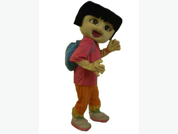 £25 DORA THE EXPLORER BEN 10 ADULT MASCOT COSTUME HIRE FANCY DRESS OUTFIT
